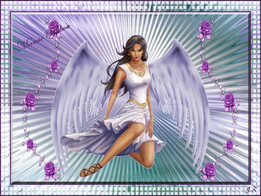 Fond D'ecran Gratuit Ange. Fond d'écran ...Femme ange .