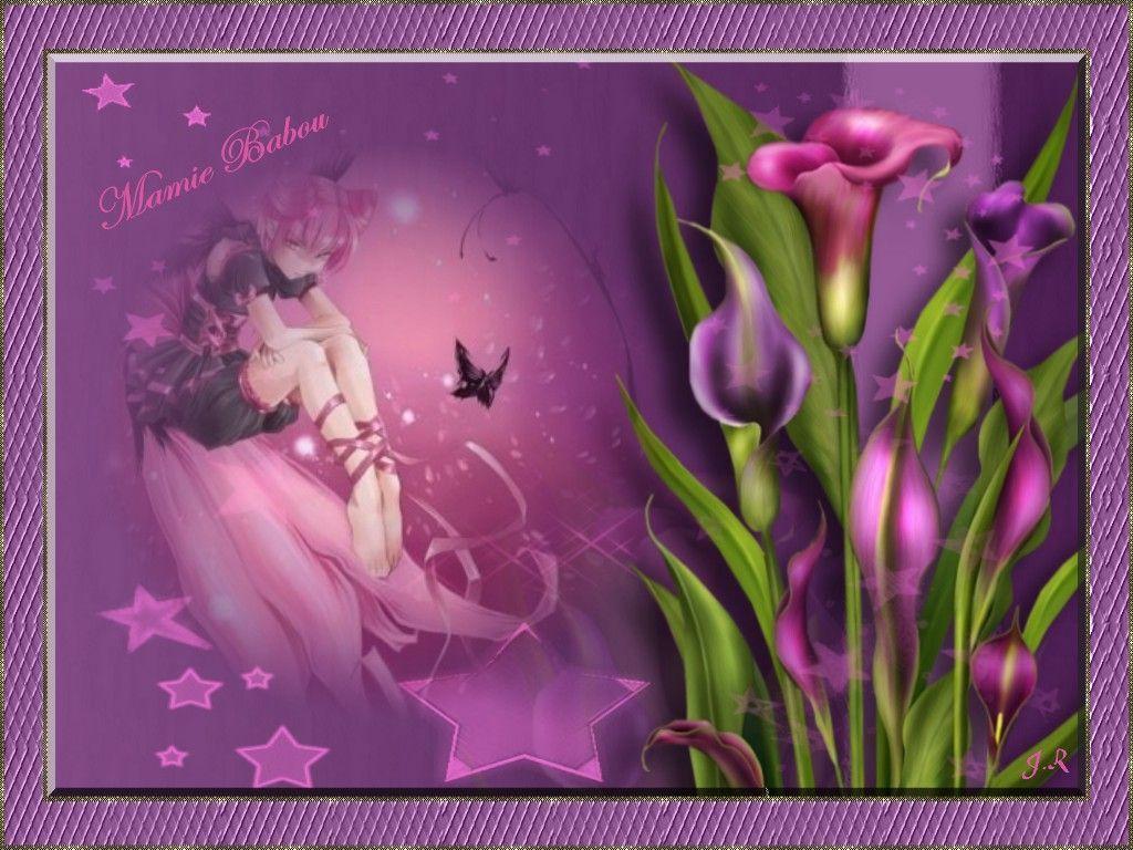 dans fond ecran paysage violet jujr3e11